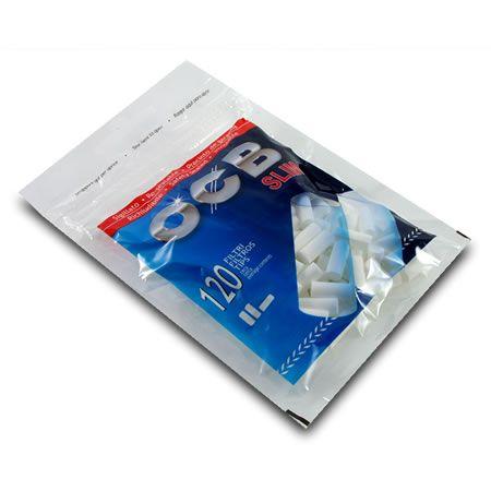 Filtres OCB slim boite de 34 sachets de 120 Filtres SLIM 6 MM