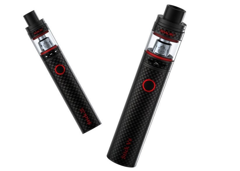 Smok Stick V8 Kit Mit Tfv8 Big Baby 3000mah Carbon Fiber